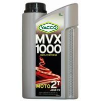 Yacco MVX 1000 2T : Huile moteur moto 2T