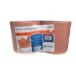 Ouate essuyage chamois Pack 2 rouleaux