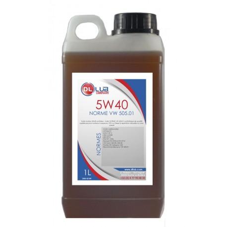 Huile moteur synthèse 5W40 - Huile 505.01