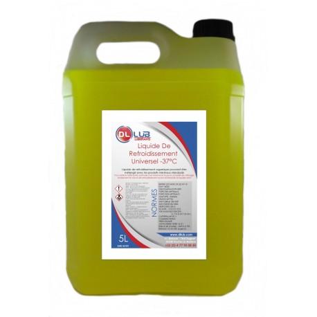 Liquide de refroidissement jaune TP / Agricole -37°C