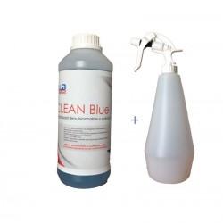 Dégraissant nettoyant Clean Blue HD Spécial chaine et pulvé 1L