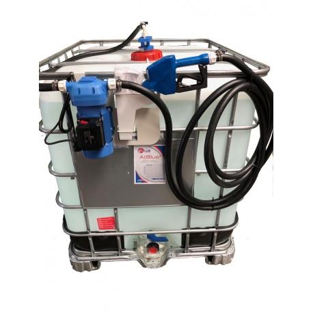 CUVE 1000 litres equipée pompe électrique et Pistolet automatique